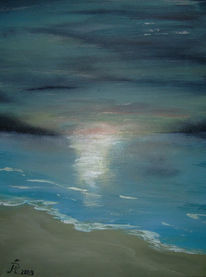 Strand, Himmel, Meer, Sonne