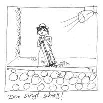 Schief, Singen