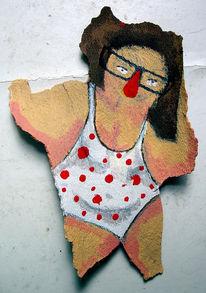 Badeanzug, Malerei,