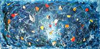 Acrylmalerei, Wasser, Erinnerung, See