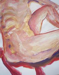 Mai, Zeichnungen, Portrait, Stuhl
