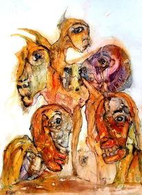 Tiere, Disput, Abstellgleis, Menschen