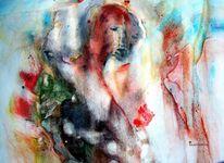 Begegnung, Auseinandersetzung, Menschen, Malerei
