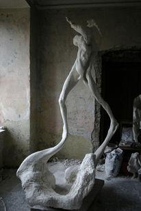 Surreal, Frau, Figurativ, Menschen