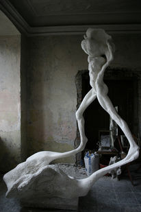 Frau, Figurativ, Menschen, Surreal