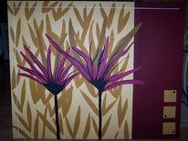 Stillleben, Abstrakt, Pflanzen, Malerei