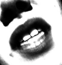 Zorn, Zähne, Mund, Nase