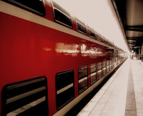 Zug, Rot, Sepia, Abkehr