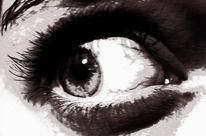 Iris, Augen, Schock, Vains