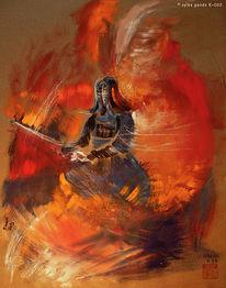 Kendo, Schwertarbeit, Ritter, Mischtechnik