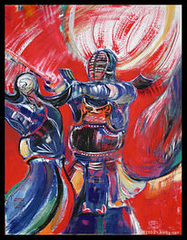 Kampfkunst, Rüstung, Waffe, Rot