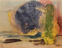 Stein, Unwetter, Malerei abstrakt, Welle
