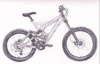 Grafit, Demo9, Bike, Fahrrad