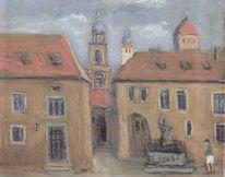 Malerei, Stadt