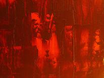 Malerei, Abstrakt, Hölle