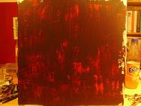 Malerei, Hölle, Acrylmalerei, Abstrakt