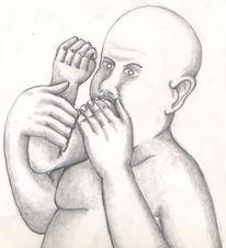 Arm, Hand, Mund, Zeichnungen