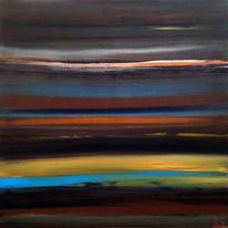 Leben, Acrylmalerei, Landschaft, Himmel