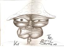 Zeichnungen, Abstrakt, Böse
