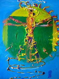 Spirale, Turbulenz, Gang, Malerei