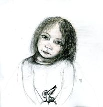 Zeichnungen, Nacken, Vogel