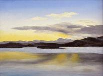 Realismus, Wasser, Ruhe, Landschaft