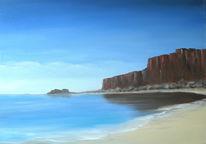Stein, Landschaft, Fantasie, Meer