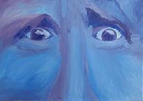 Wut, Blau, Augen, Zeichnungen