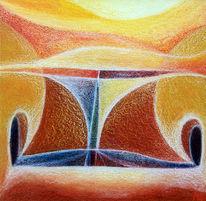 Frühwerk, Malerei, Abstrakt, Erde