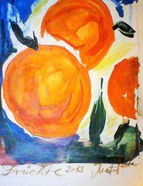 Reif, Gelb, Garten, Orange