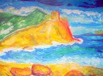 Malerei, Abstrakt, Mallorca