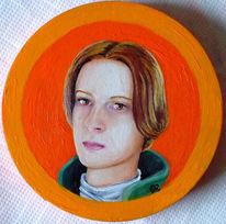 Bunt, Portrait, Ölmalerei, Alt