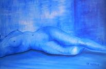 Akt, Acrylmalerei, Malerei,