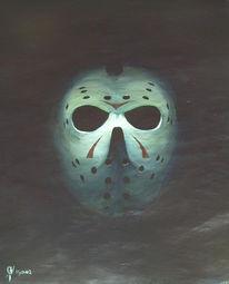 Maske, Malerei,