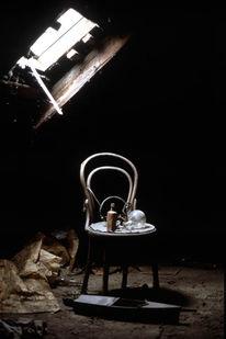 Dachboden, Fotografie, Analoge, Menschen