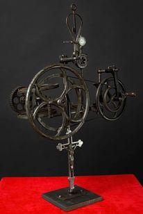 Skulptur, Assemblage, Kinetische, Collage