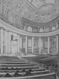 Innenraum, Interieur, Kirche, Zentralbau