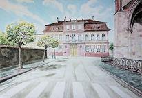 Frankreich, Stadtansicht, Elsass, Architektur