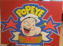 Spinat, Farben, Popart, Popeye