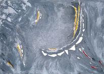 Spiegel, Schnee, Silber, Malerei