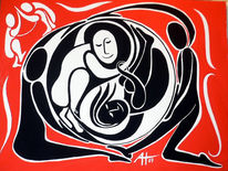 Malerei, Yin, Yang