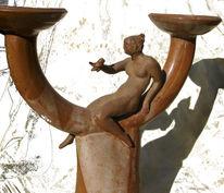 Figur, Vogel, Töpferei, Keramikfigur