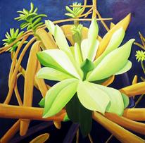Flora, Blüte, Pflanzen, Ölmalerei