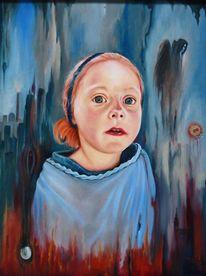 Realismus, Erwartung, Ölmalerei, Surreal