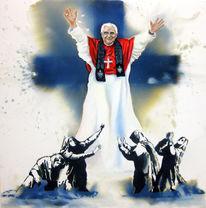 Malerei, Figural, Papst
