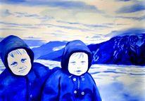 Bruder, Ölmalerei, Malerei