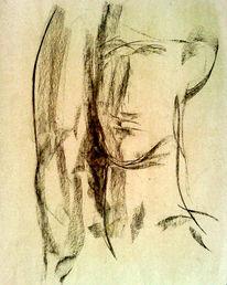 Teilung, Vertikale, Spalt, Portrait
