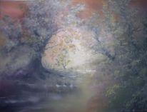 Moor, Ölmalerei, Malerei, Melancholie