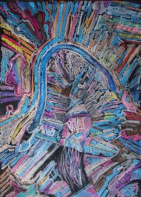 Pastellmalerei, Sicht, Malerei, Geo