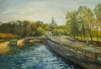 Kanal, Peterburg, Realismus, Beitrag